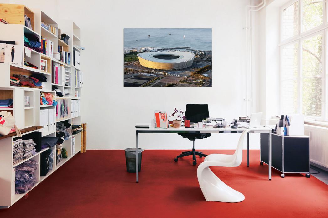 »Cape Town Stadium und Segelboote« in deinem Büro - 11FREUNDE BILDERWELT