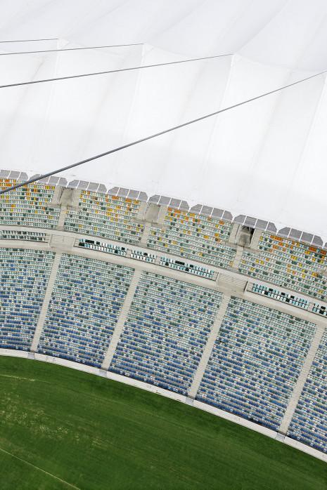 Stadiondach und Sitze in Durban - 11FREUNDE BILDERWELT