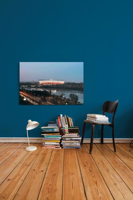 »Nationalstadion Warschau am Abend« an deiner Wand - 11FREUNDE BILDERWELT