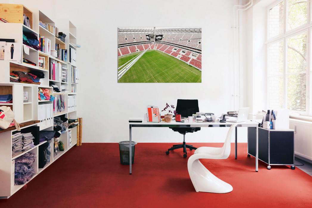 »Nationalstadion Warschau von oben« in deinem Büro - 11FREUNDE BILDERWELT