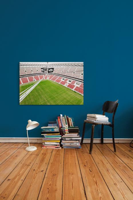 »Nationalstadion Warschau von oben« an deiner Wand - 11FREUNDE BILDERWELT