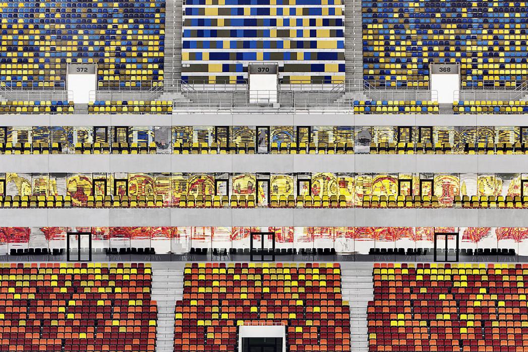 Sitze in der Nationalarena Bukarest - 11FREUNDE BILDERWELT