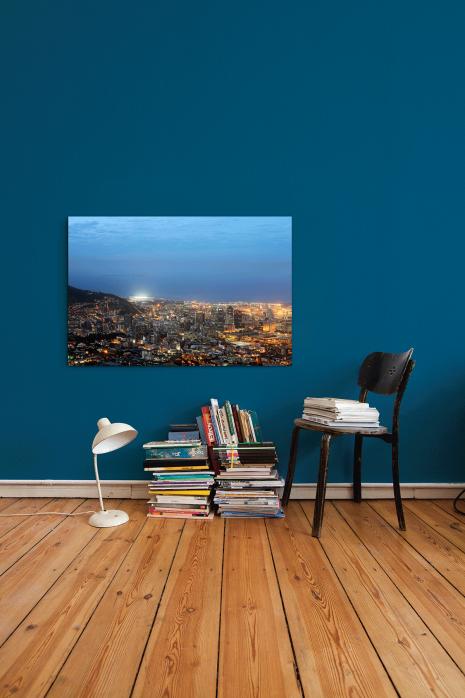 »Cape Town Stadium und Skyline« an deiner Wand - 11FREUNDE BILDERWELT