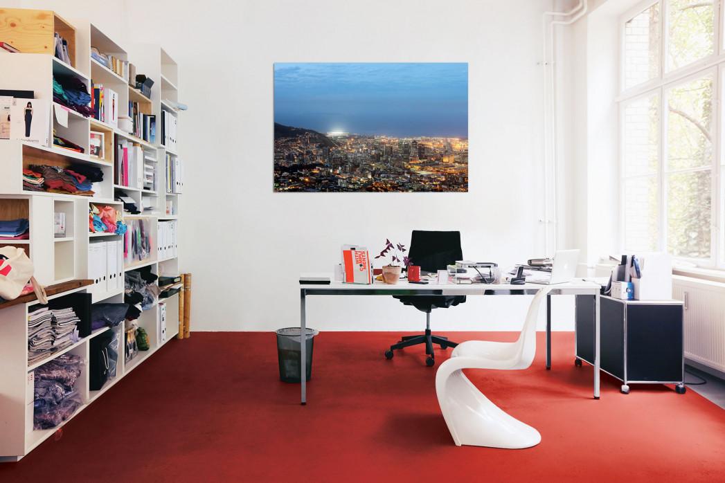 »Cape Town Stadium und Skyline« in deinem Büro - 11FREUNDE BILDERWELT