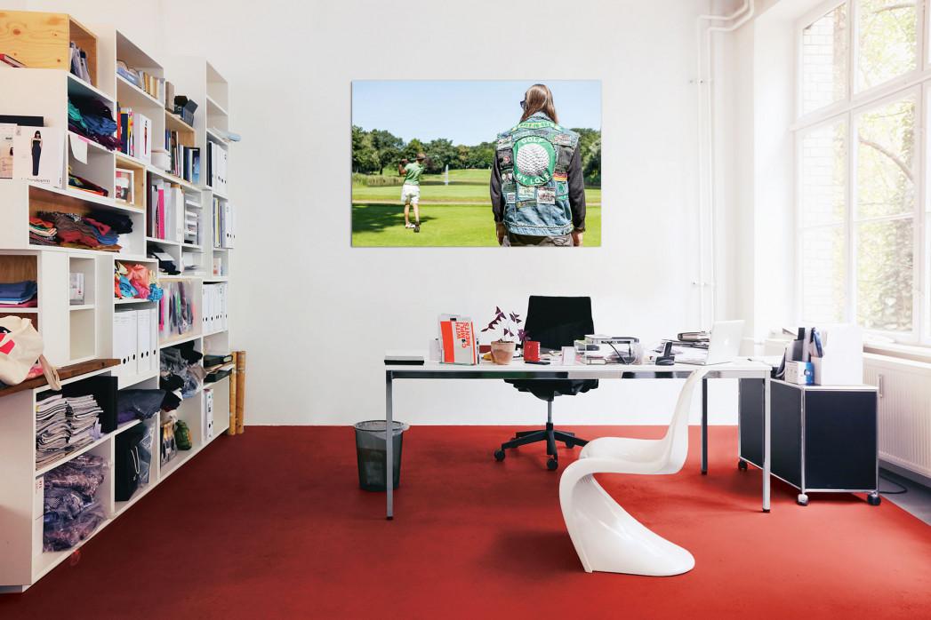 Kutten in anderen Sportarten, Motiv: Golf, in deinem Büro - 11FREUNDE BILDERWELT
