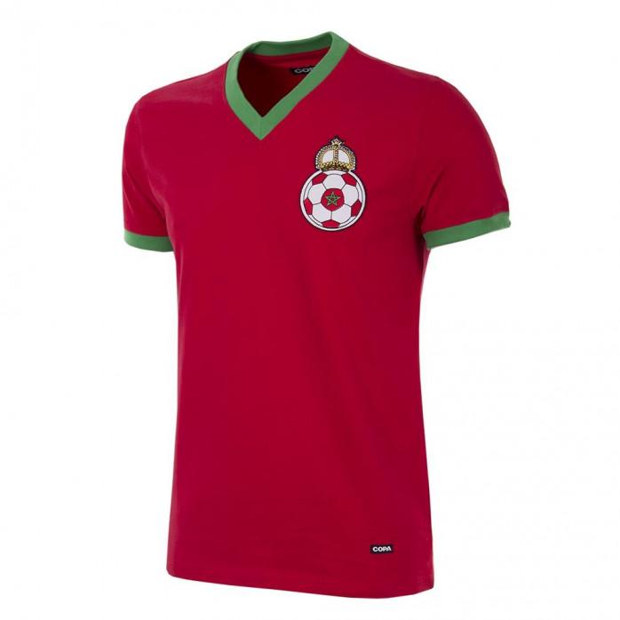 Morocco 1970´s Short Sleeve Retro Football Shirt
