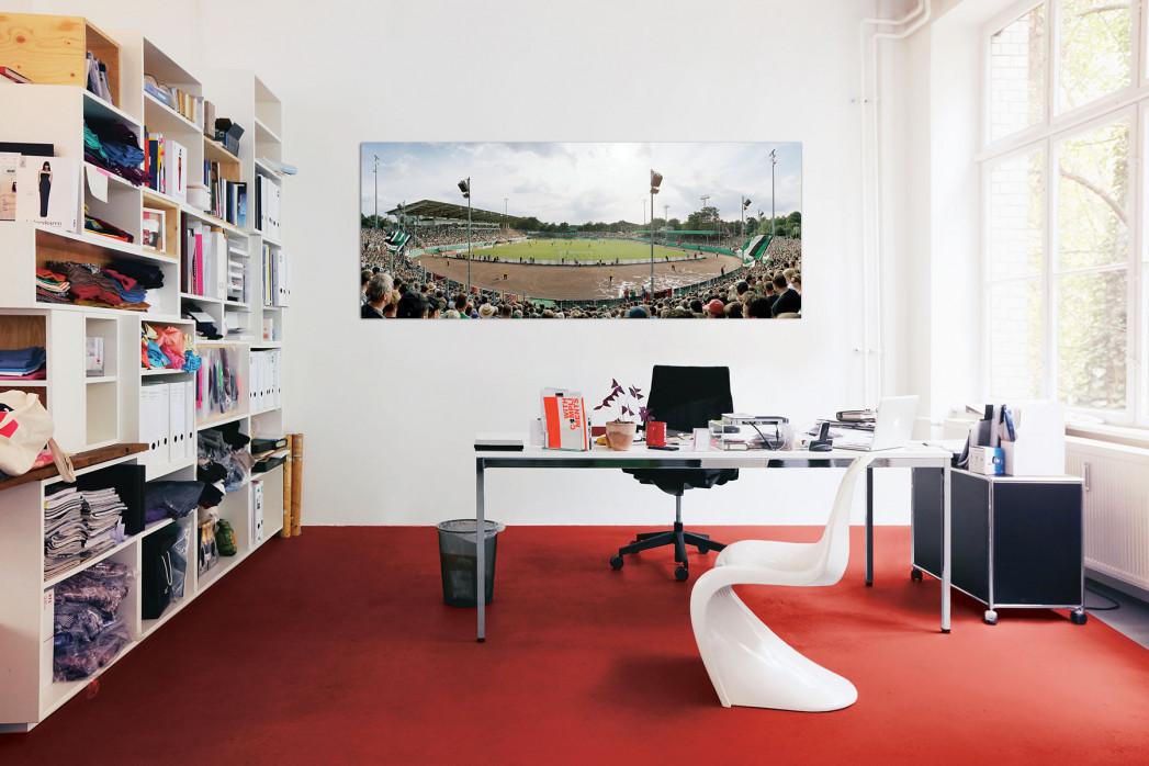 Das Preußenstadion in deinem Büro - 11FREUNDE BILDERWELT