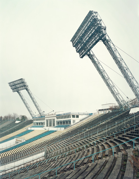 Witness of Glory Times: Leipzig (1) - Markus Wendler - Stadion Foto als Wandbild