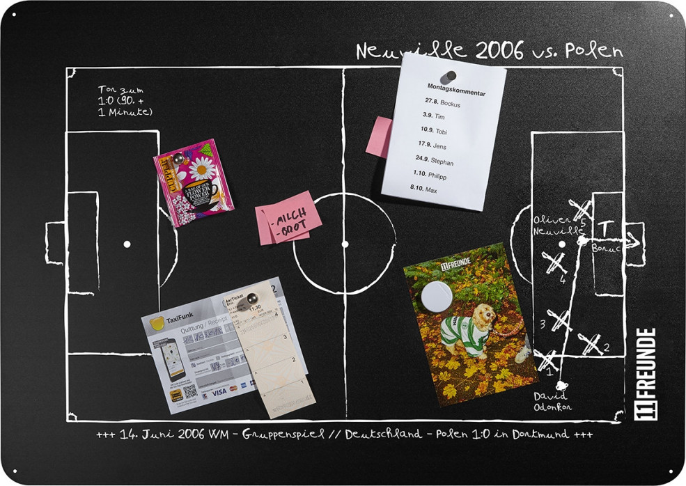 Magnettafel: Neuville 2006 - 11FREUNDE SHOP