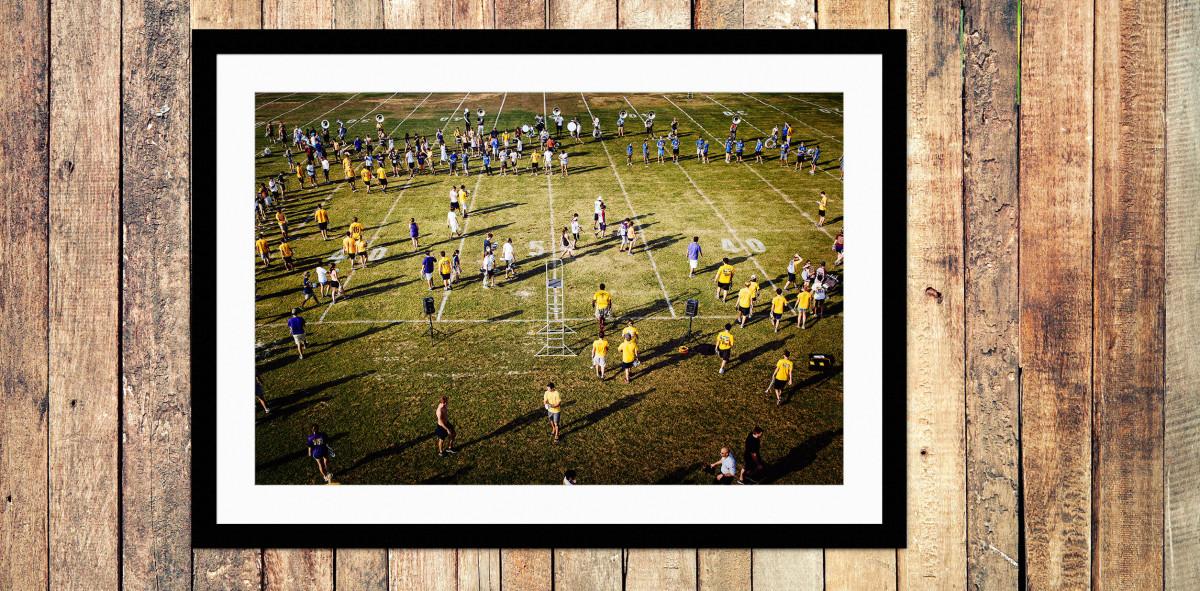 Auf dem Rasen im Tiger Stadium - Sport Fotos als Wandbilder - NoSports Magazin - 11FREUNDE Shop