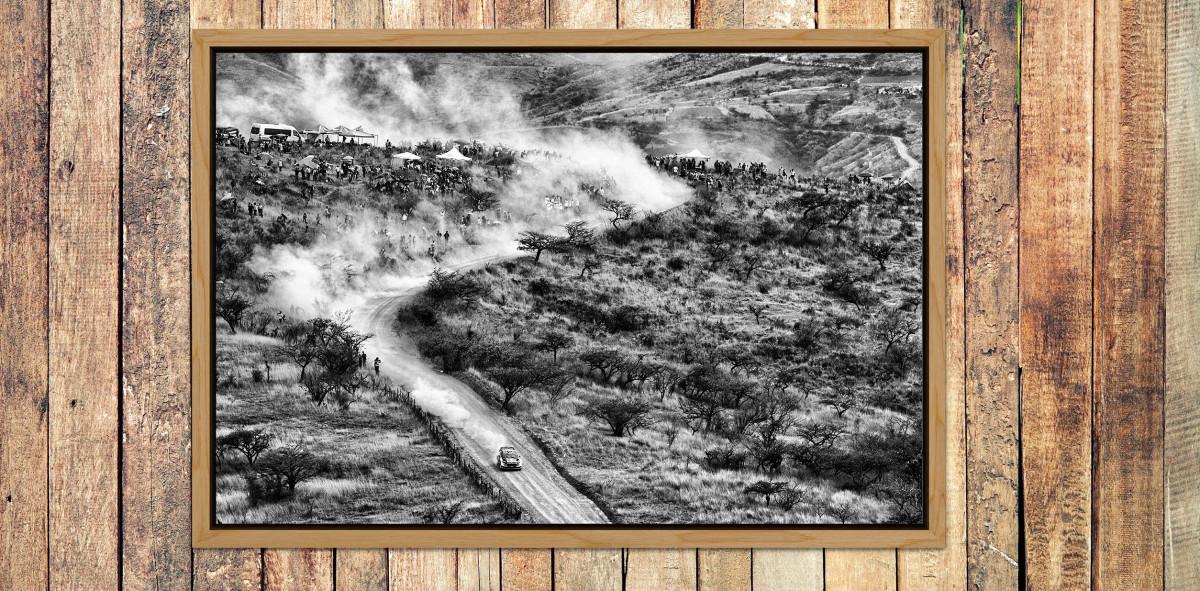 Rallye Mexico (3) - Sport Fotografie als Wandbild - Motorsport Foto - NoSports Magazin