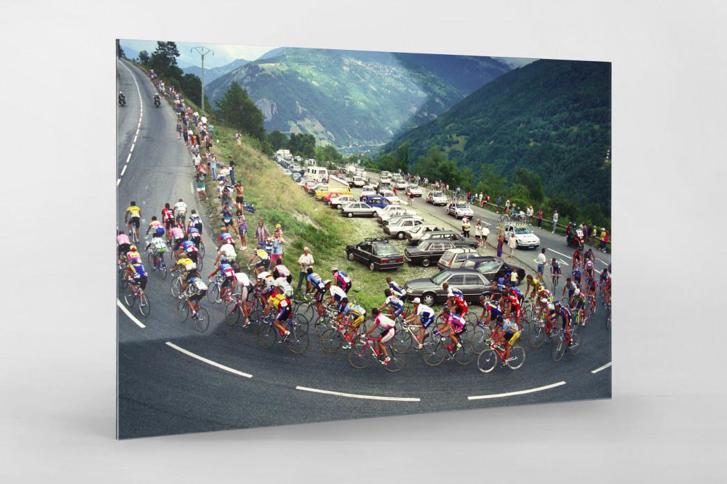 In den Alpen bei der Tour 1994 - Tour de France Foto als Wandbild