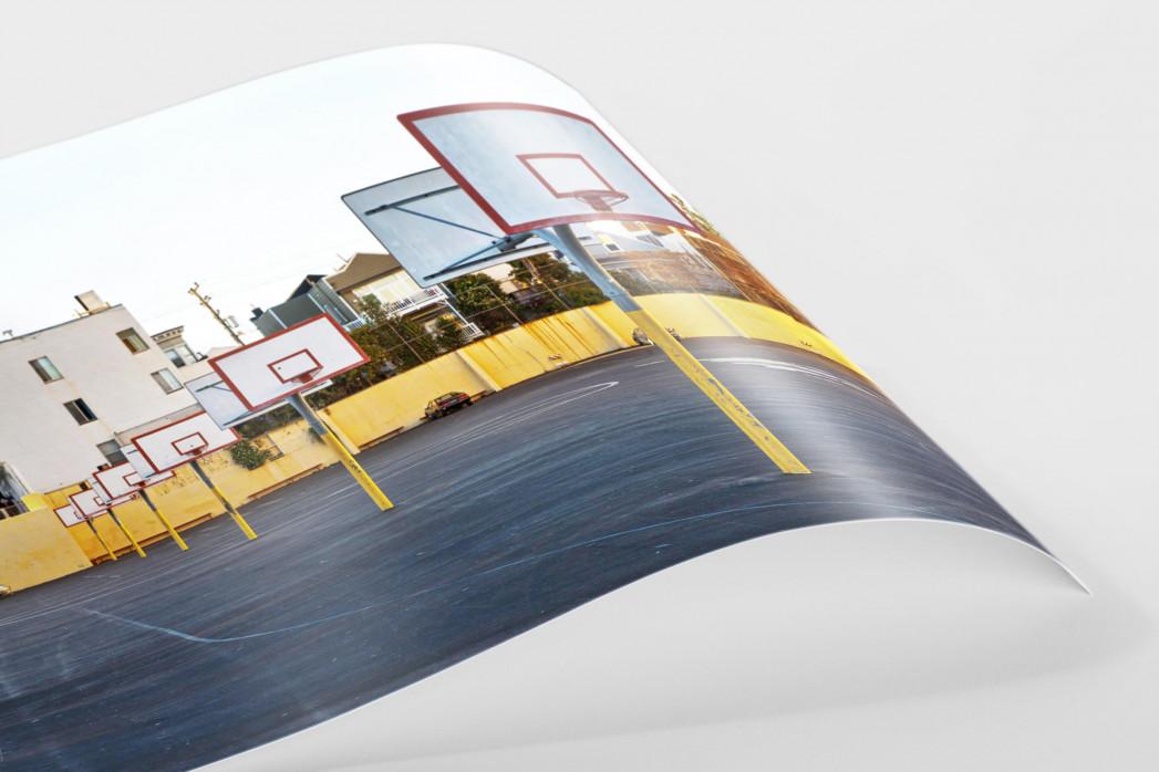 Basketballplätze in San Francisco - Sport Fotografie als Wandbild