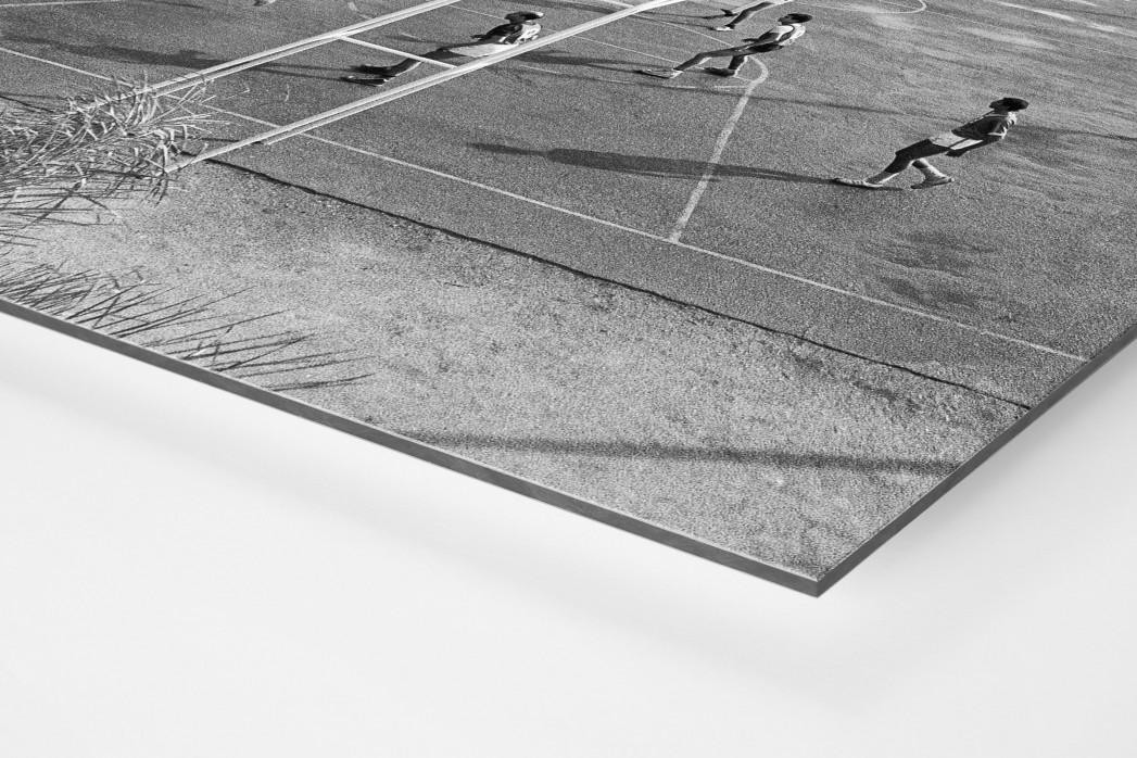 Basketballplatz in Algier - Sportfoto als Wandbild