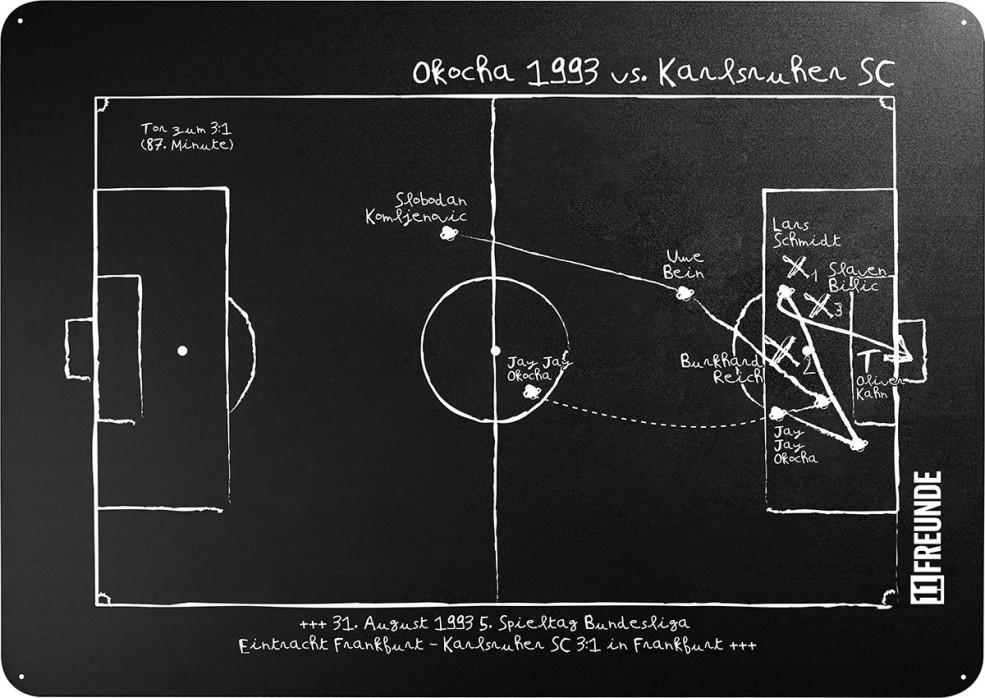 Magnettafel: Okocha 1993 - 11FREUNDE SHOP