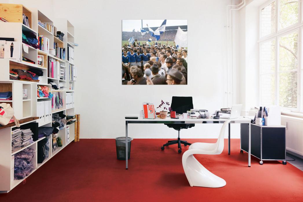 Reporter und die Meisterelf vom TSV 1860 München in deinem Büro - 11FREUNDE BILDERWELT