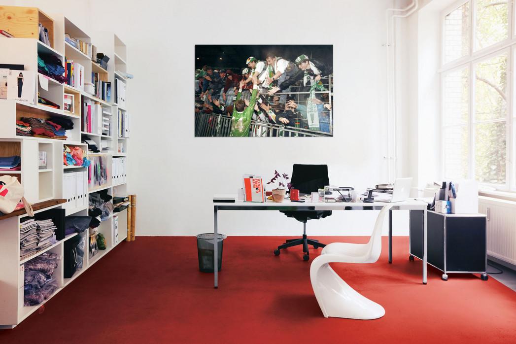 »Bremer Europapokalschlacht« in deinem Büro