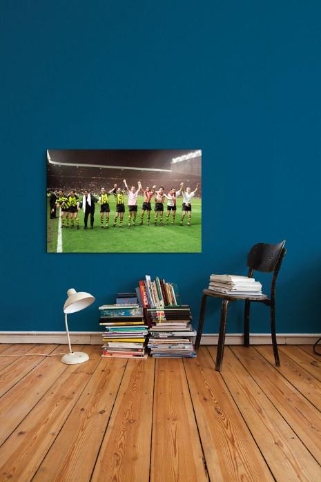 »BVB im Old Trafford« an deiner Wand