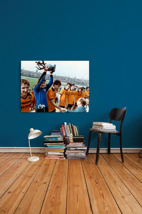 »Dresden FDGB-Pokalsieger 1984« an deiner Wand