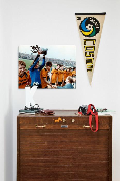 »Dresden FDGB-Pokalsieger 1984« über deiner Kommode