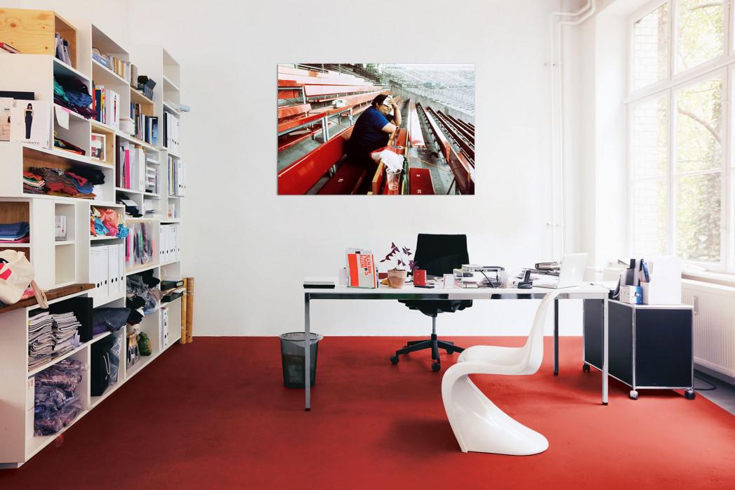 In deinem Büro: Fassungsloser Tifoso - 11FREUNDE BILDERWELT