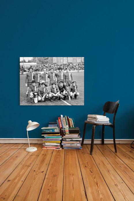 Die Elf vom Halleschen FC Chemie 1972 an deiner Wand - 11FREUNDE BILDERWELT