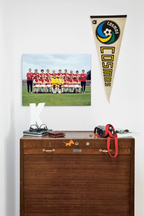 Mannschaftsfoto vom Halleschen FC Chemie aus den Siebzigern über deiner Kommode - 11FREUNDE BILDERWELT