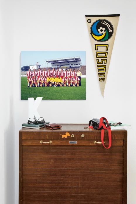 Mannschaftsfoto Hallescher FC Chemie aus den Siebzigern über deiner Kommode - 11FREUNDE BILDERWELT