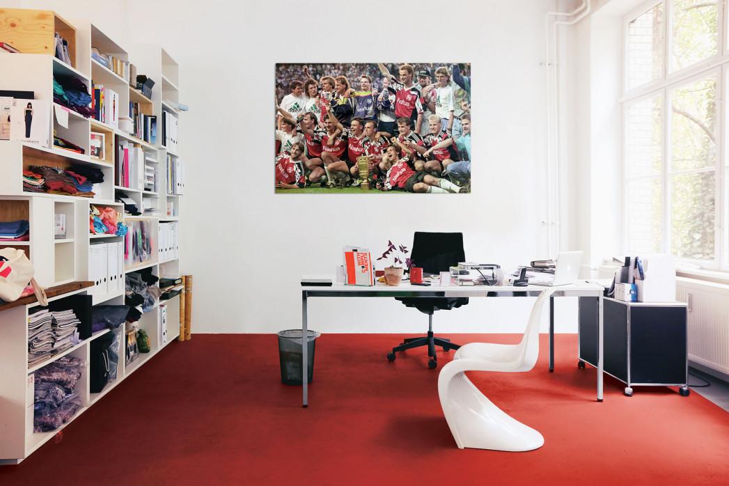 In deinem Büro: Hannoverscher Pokaljubel Hannover 96 - 11FREUNDE BILDERWELT