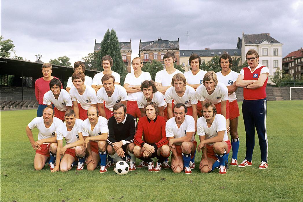HSV Mannschaftsfoto 1971/72 - 11FREUNDE BILDERWLET
