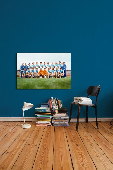 Mannschaftsfoto FC Karl-Marx-Stadt aus den Siebzigern an deiner Wand - 11FREUNDE BILDERWELT