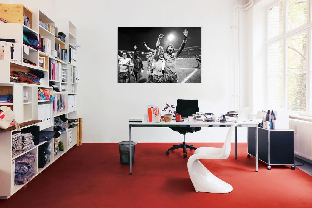 »Kaiserslautern schlägt Real« in deinem Büro
