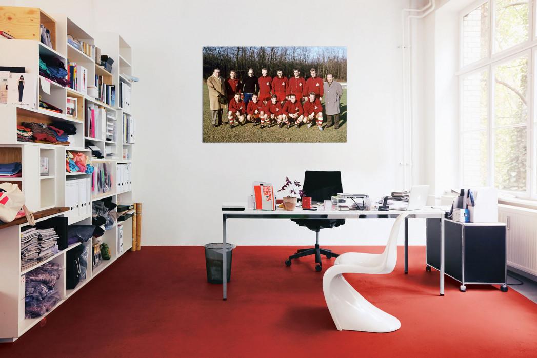 Mannschaftsfoto 1. FC Köln 1961/62 in deinem Büro - 11FREUNDE BILDERWELT