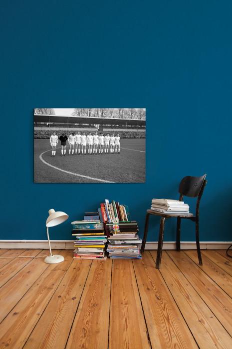 An deiner Wand: Die Elf von Bor. Mönchengladbach im Stadion »Rote Erde« - 11FREUNDE BILDERWELT