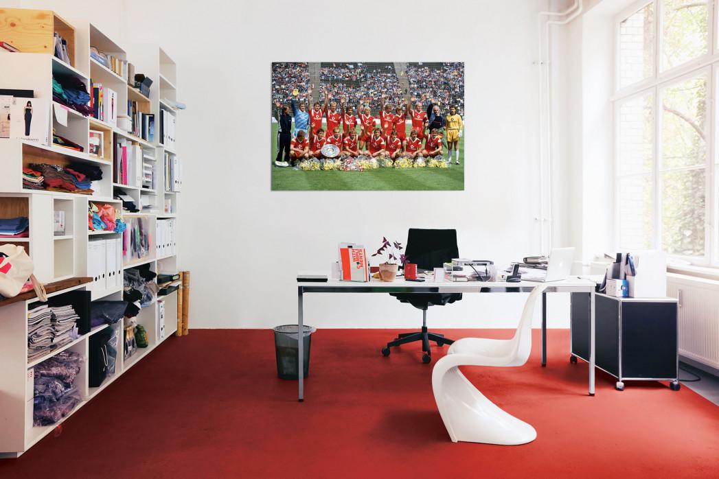 Meistermannschaft FC Bayern München 1987 in deinem Büro - 11FREUNDE BILDERWELT