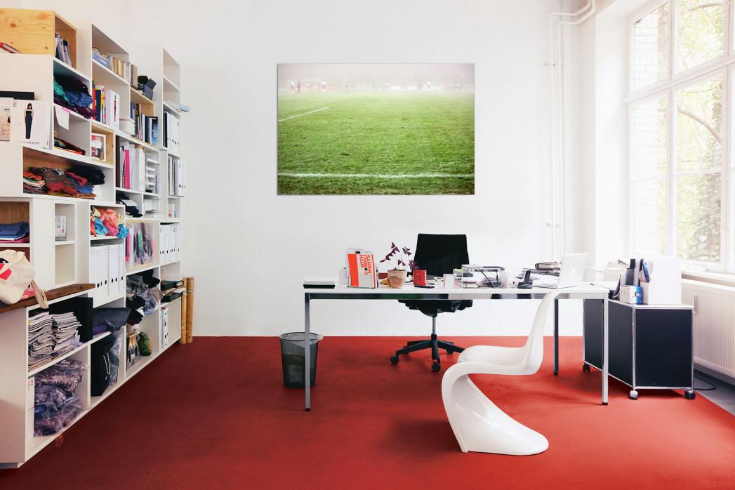 »Nebel gegen Barcelona« in deinem Büro