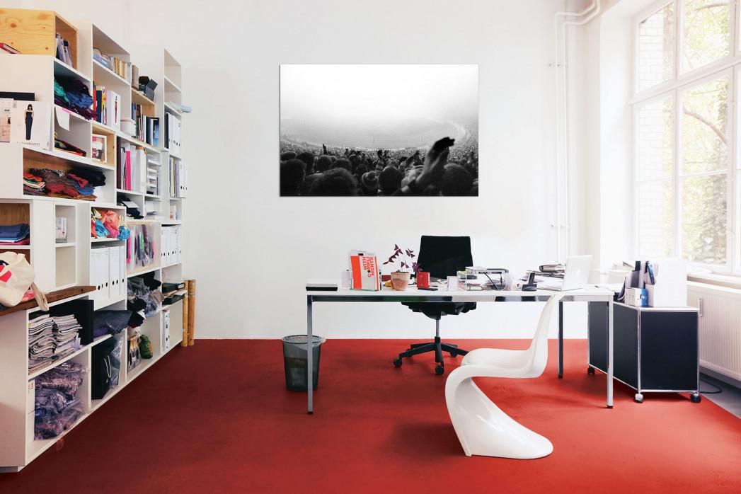»Nebel im Olympiastadion« in deinem Büro