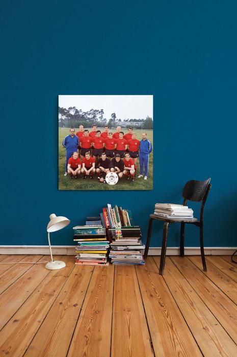 Mannschaftsfoto 1. FC Nürnberg 1968/69 in deinen vier Wänden - 11FREUNDE BILDERWELT