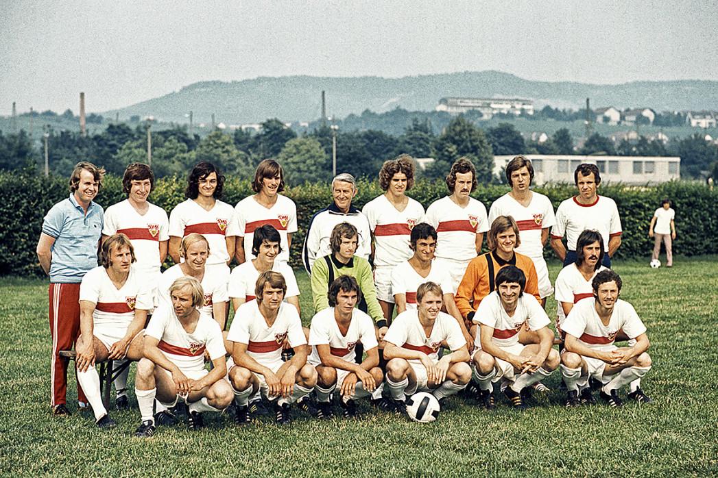 Stuttgart 1973/74 - 11FREUNDE BILDERWELT