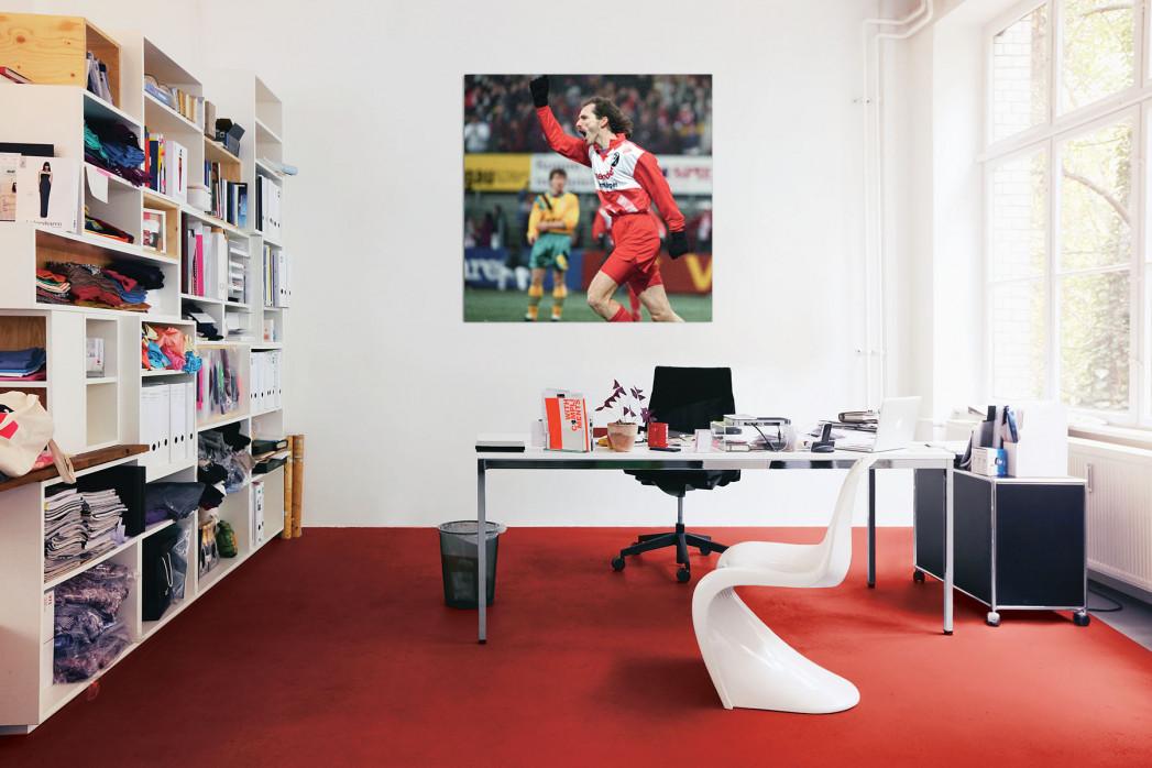»Wassmers Torjubel« in deinem Büro
