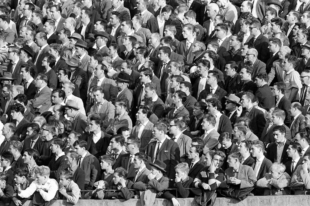 11FREUNDE BILDERWELT - Zuschauer 1963
