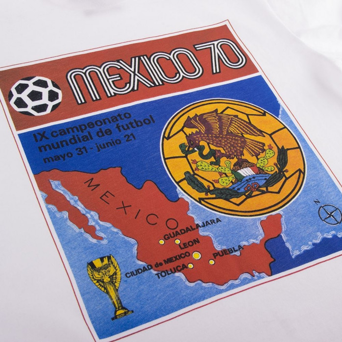 Panini Heritage Fifa World Cup 1970 - T-Shirt von COPA - 11FREUNDE SHOP