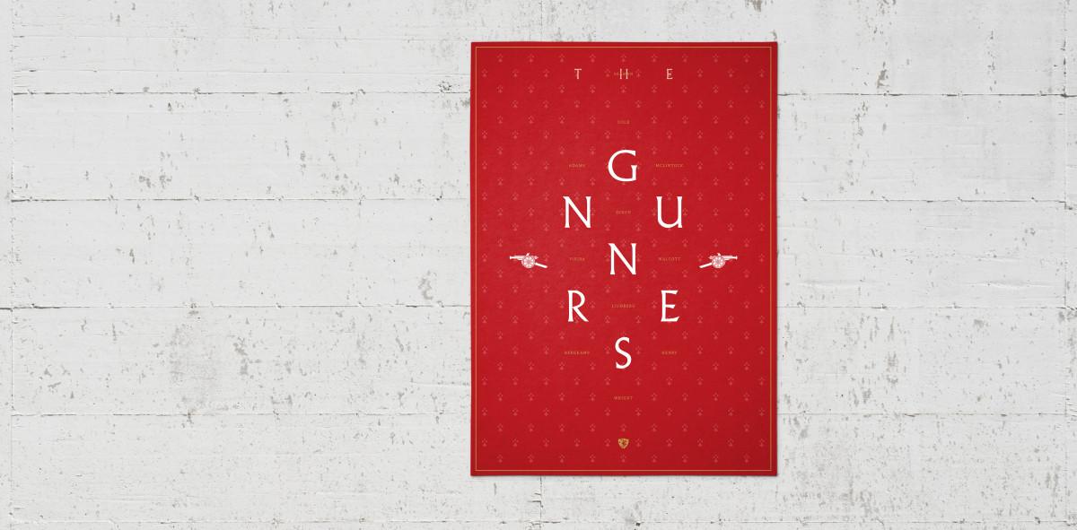 Legendary XI: Arsenal - Poster bestellen - 11FREUNDE SHOP