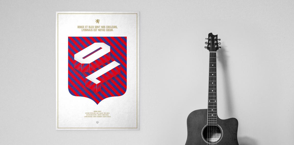 Legendary XI: Lyon - Poster bestellen - 11FREUNDE SHOP