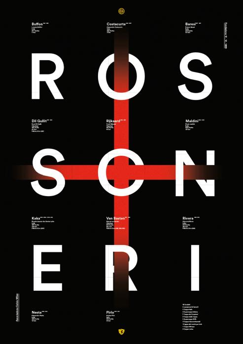 Legendary XI: Milan - Poster bestellen - 11FREUNDE SHOP