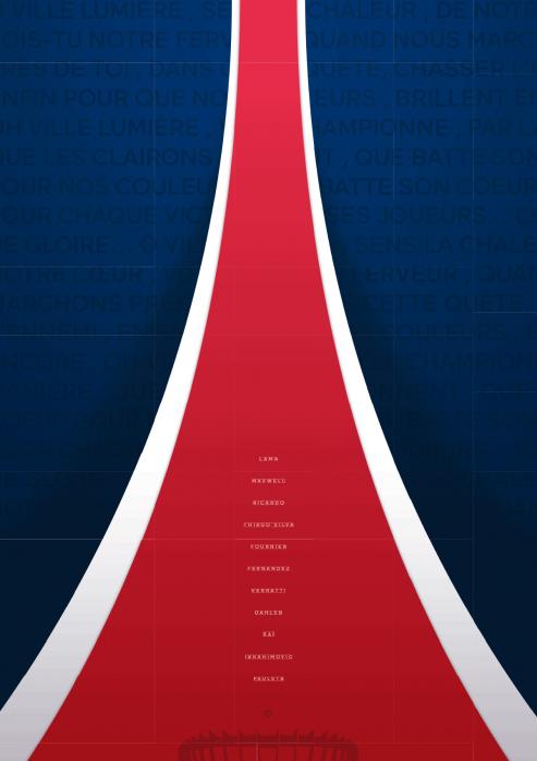 Legendary XI: PSG - Poster bestellen - 11FREUNDE SHOP