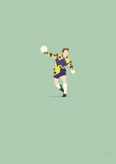 Kult Kamps - Poster Borussia Mönchengladbach - Hands Of God