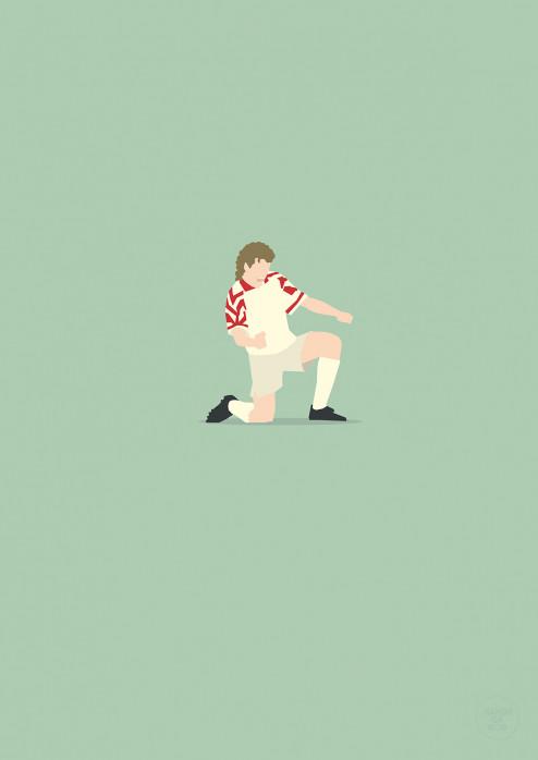 Toni Doppelpack - Anton Polster Poster - 1. FC Köln