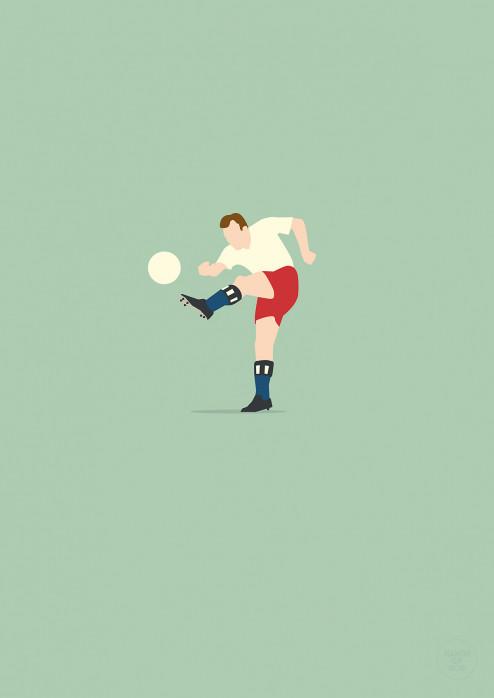 Uns Uwe - Uwe Seeler HSV Poster - 11FREUNDE SHOP
