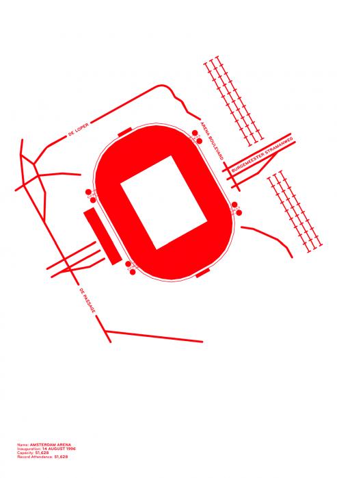 Piktogramm: Ajax - Poster bestellen - 11FREUNDE SHOP